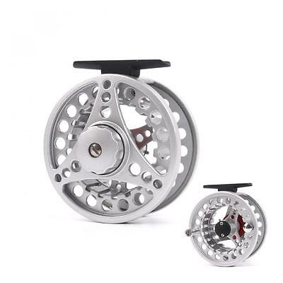 100mm CNC Machined Aluminum Fly Fishing Reel Large Arbor Salmon Fishing