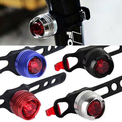 Hot Bike Bicycle Cycling Front Rear Tail Helmet Flash Light Safety Warning Lamp