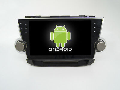 "10.1"" Android 6.0 Quad Core Car Dvd Gps Navi Radio For Toyota Highlander 2012"