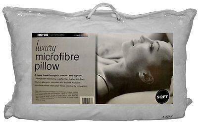 Hilton Luxury Microfibre Soft Pillow 48x73cm