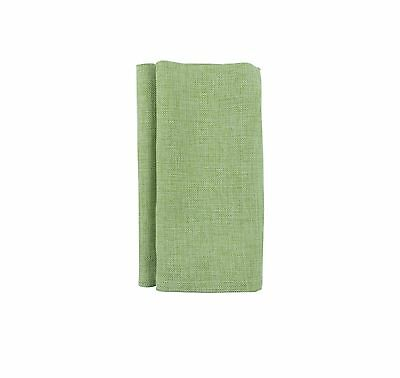 Lovely Large Napkins (4qty) 50cm x 50cm Linen Weave Easy Care Quality