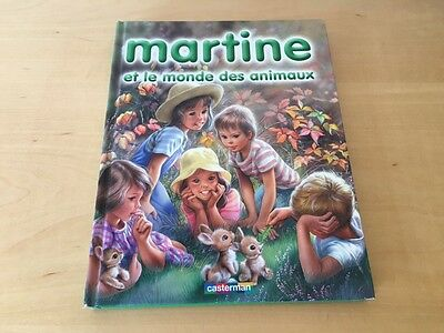 Used - Children's Book Libro Infantil - MARTINE - French lenguage - Usado