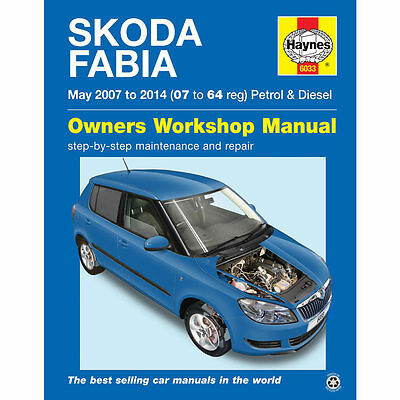 Skoda Fabia 1.2 1.4 1.6 1.9 2007-2014 (07-64 Reg) Haynes Workshop Manual