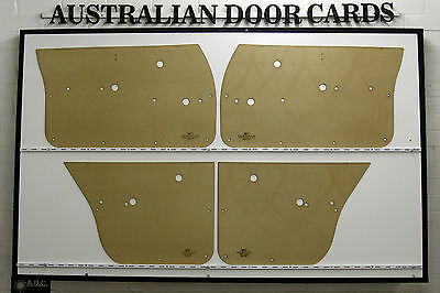 Holden HQ HJ HX HZ Door Cards, Trim Panels. Sedan, Wagon. Quality Masonite