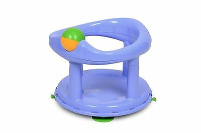 Safety 1St Baby Swivel Bath Seat In Pastel Blue (New)
