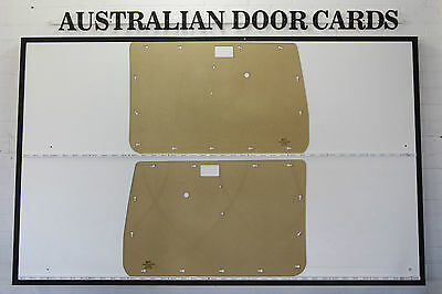 Toyota Land Cruiser 75, 78, 79 Series Door Cards Blank Trim Panels 2 Door Models