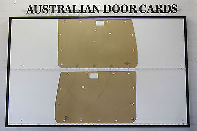 Toyota Landcruiser 70, 75, 76, 78, 79 Series DOOR CARDS. Blank Trim Panels