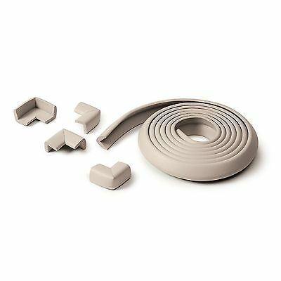 Prince Lionheart Table Edge Guards & 4 Corners In Grey (New)