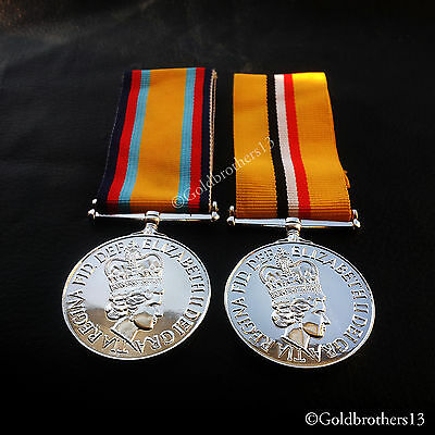 Iraq Medal - 2003-2011 , Gulf War Medal - British Campaign Medals 1990 New Repro