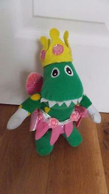 "Fairy Dorothy the Dinosaur- Wiggles- 10""  Soft Toy g23"