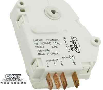 Supco SPB1401F 8 Hour 20 Minute Defrost Timer