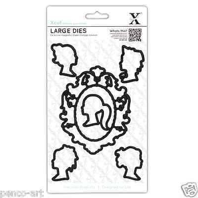 X cut 5 piece die set. Decorative cameos or silhouette Use Xcut sizzix big shot