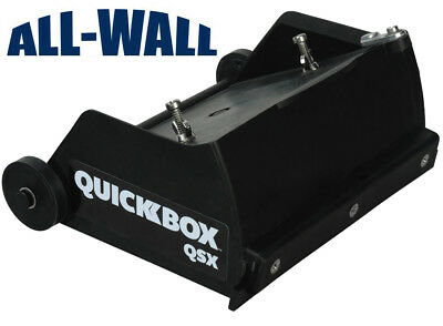 TapeTech QuickBox 6.5 Drywall Flat Finishing Box for Hot Mud QB06-QSX *NEW*