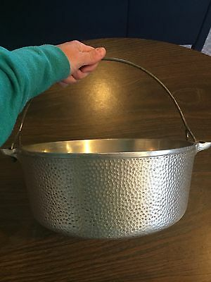 Very Rare #8 Griswold Hammered Dutch Oven A2165 Preowned