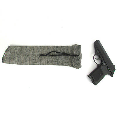 Gun Socks Bag Handgun Sack Sleeves Pistol Slip Reel Case Carrier Cover Silicone