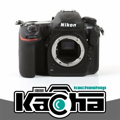 SALE Nikon D500 Digital SLR Camera 20.9MP DX-Format  Body (Kit Box)
