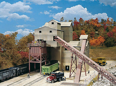 3062 Walthers Cornerstone Glacier Gravel Stone Quarry Mine HO Scale