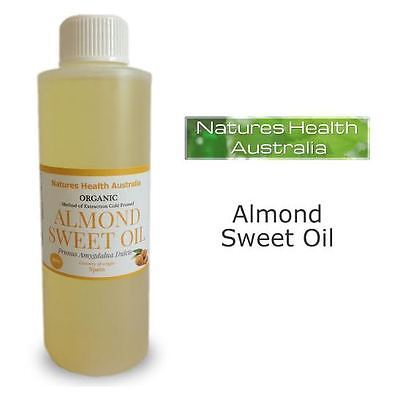 ALMOND SWEET OIL 100% PURE ORGANIC COLD PRESSED  500ml