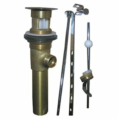 LASCO 03-4623 Lavatory Pop Up Drain Assembly with 1 1/4-Inch Tailpiece, Antique