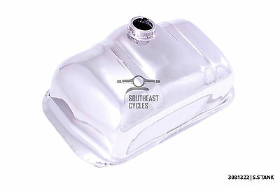 Standard stainless steel fuel tank for Lambretta LI Special SX GP TV all series