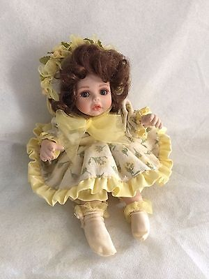 """Yellow Rose of Texas Rose Bud"" Marie Osmond Tiny Tot Doll"
