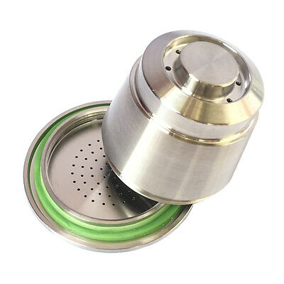 1 Gen Stainless Steel Coffee Refillable Reusable Capsule for Nespresso Machine