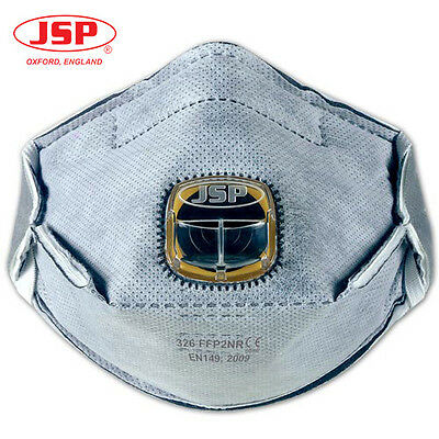 Jsp Typhoon Valve Mask With Integrated Filter - Fumes / Welding  Protection 326