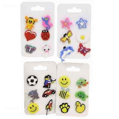 6 Piece Crocs Shoe Plug Charms Slippers Accessories Button Jibbitz Wristbands