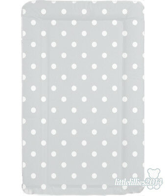 Brand New Soft Padded Deluxe Large Baby Changing Mat Waterproof - Grey Spot