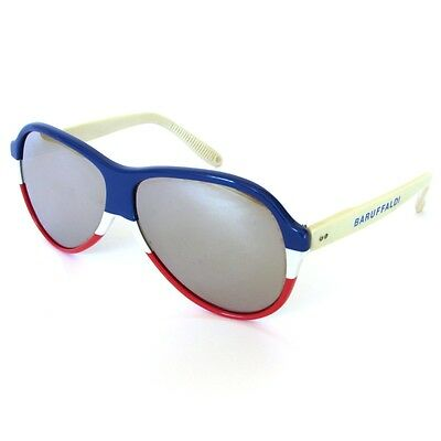 Baruffaldi Mirror 70/80 Sea Sci Ice Total Sunglasses Occhiali Da Sole Lunettes