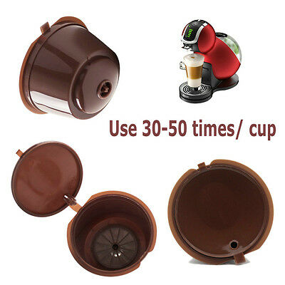 Refillable Reusable Coffee Capsule Pods Cup for Nescafe Dolce Gusto Machine