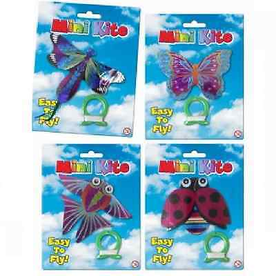 Mini Butterfly Kite Easy Flying Outdoor Toy Animal Novelty Summer String Tail