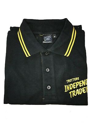 Only Fools and Horses Official Trotters Independent Traders Woven Polo Shirt