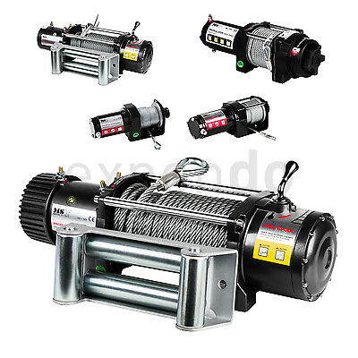 Industrial Winch Dual Brakes - Trasmission 153:1 - 1Hp Engine - Max Load 6124Kg