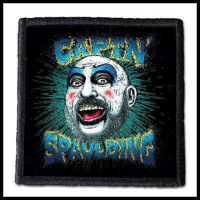 CAPTAIN SPAULDING  --- Patch / Rob Zombie Devils Rejects House of a 1000 Corpses