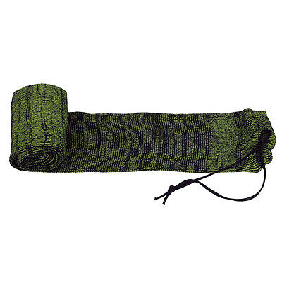 Tourbon Shotgun Silicone Sock Gun Bag Slip Rifle Sleeves Sacks Shooting 134.5cm