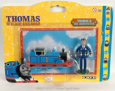 ERTL THOMAS & MR CONDUCTOR 2000 Magic Railroad the TANK ENGINE and Friends BNIP