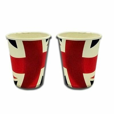 Union Jack Paper Cups Pack of 20