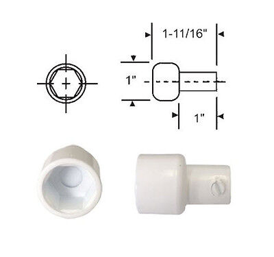 Replacement Hex Ball Adaptor For Skylight And Awning Window Operators White