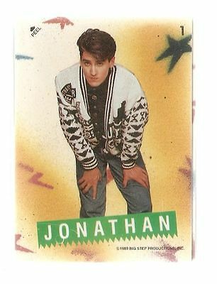 1989 New Kids on the Block Topps Cards and Sticker Set