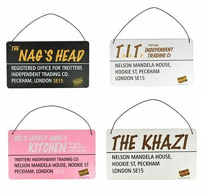 Only Fools and Horses Set of 4 Official Tin Signs - DISCOUNTED