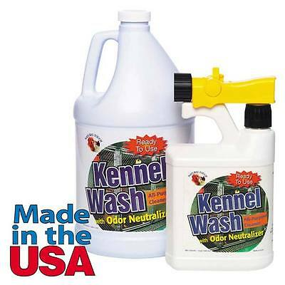 Dog Kennel Wash All Purpose Cleaner Neutralizes Odor Biodegrable Eco Friendly