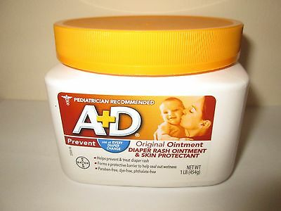 A & D Diaper Rash Ointment Tube, Original - 1 LB