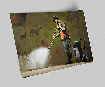 ACEO Banksy Amur Tiger Graffiti Street Art on Canvas Giclee Print