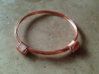 Copper Elephant Hair Bracelet Style