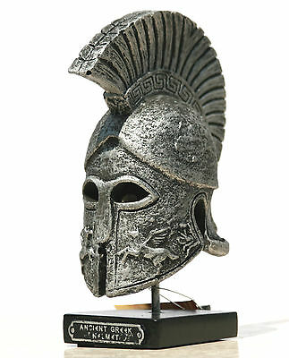 Ancient Greek Warrior HELMET embossed horses Home Décor Art 6.3΄΄
