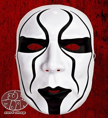 New WWE Sting Silent Warrior Plastic Halloween Party Mask