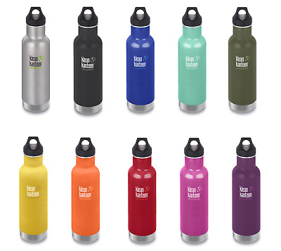 Klean Kanteen Vacuum Insulated Classic 20 oz 592 ml - Choice of 10 Colours