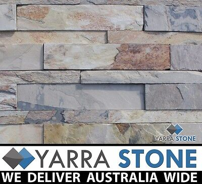 Stackstone / Natural Stone wall Cladding / Stacked Stone--Indian Autumn