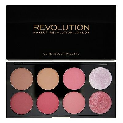 MAKEUP REVOLUTION Ultra BLUSH  CONTOUR HIGHLIGHT Palette - Sugar & Spice